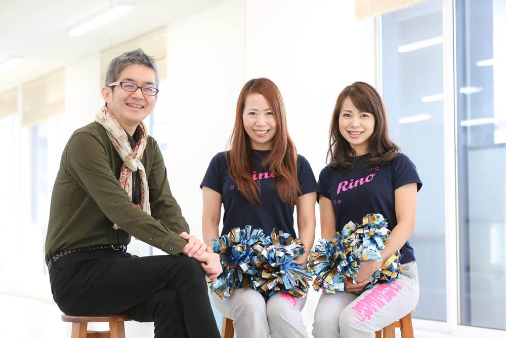 のだ美智子さん、竹内なみ子さん、勝野